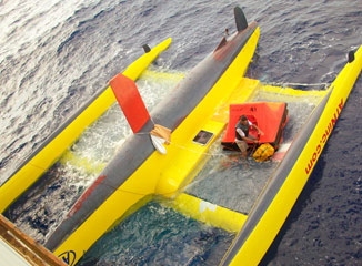 Route du Rhum Capsized