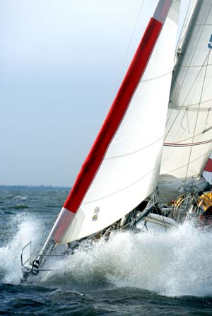 Gale Sail in Action