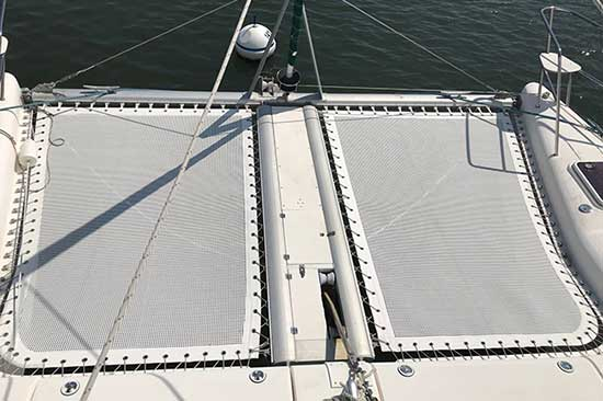 ATN Multihull SuperTramp Net- Island Spirit 37
