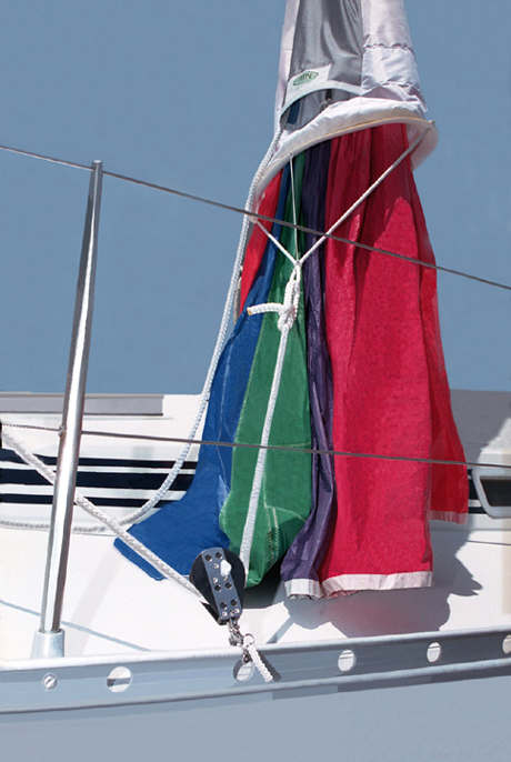 ATN SnapRatchet In Use With ATN Spinnaker Sleeve