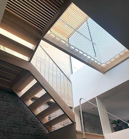 Architectural ATN Net Stair Well