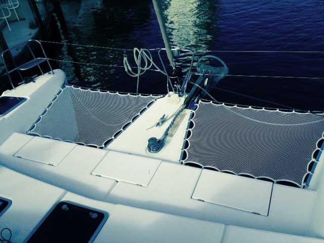 Multihull Nets   Catamaran Nets   Trampolines   ATN Sailing
