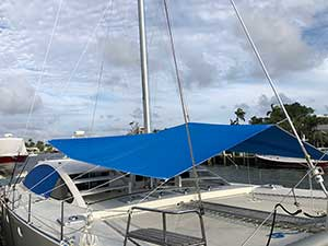 55 Catamaran Multi Awning
